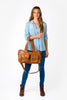 Denver Duffel Nappy Bag in Tan | Denver Duffel Nappy Bag in Tan | Livvy + Harry | Livvy + Harry