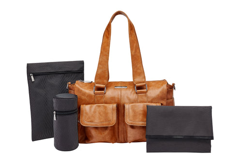 Essential Basics Set: Bottle Holder, Zipped Bag & Change Mat
