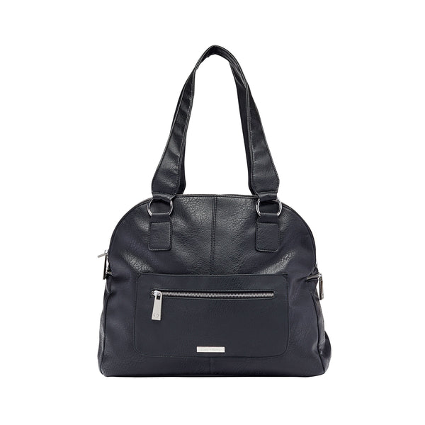 The Carry-All Nappy Bag in Black | Livvy + Harry