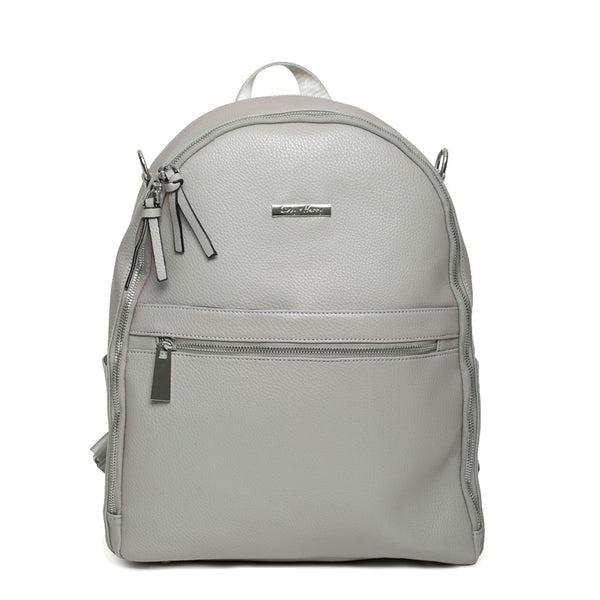 The Marseille Baby Backpack in Grey | Livvy + Harry
