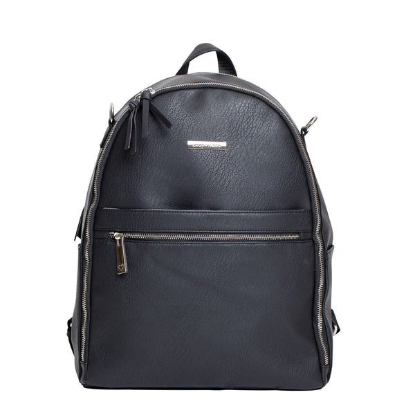 The Marseille Baby Backpack in Black | Livvy + Harry