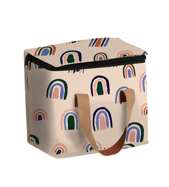 Medium Lunch Bag Ochre Rainbows | Livvy + Harry