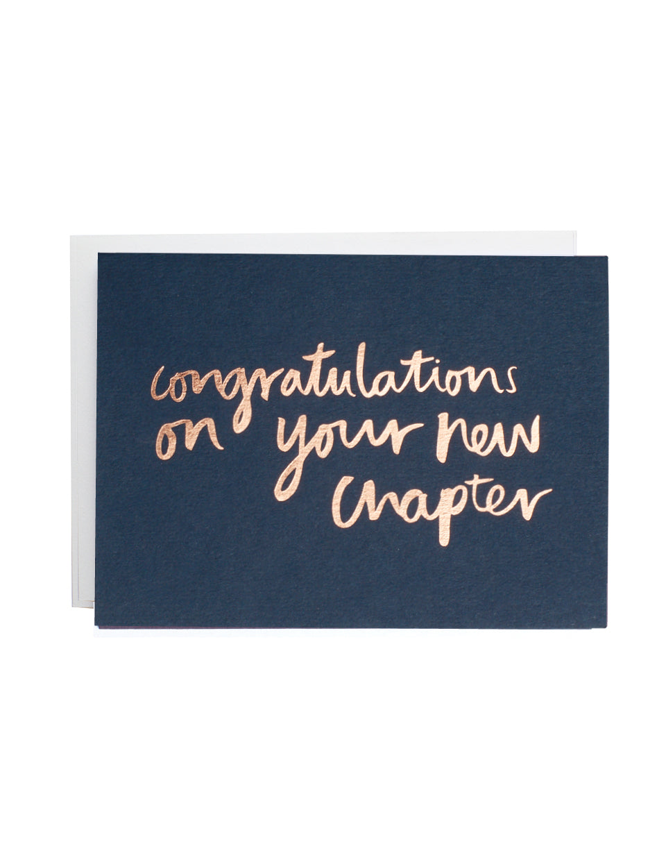 New Chapter Greeting Card | Livvy + Harry
