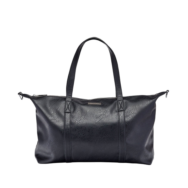 Travel Tote Nappy Bag in Black | Livvy + Harry