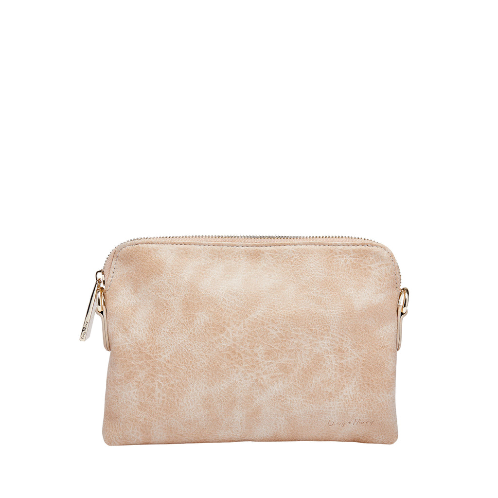Nappy Clutch in Beige Cream | Livvy + Harry
