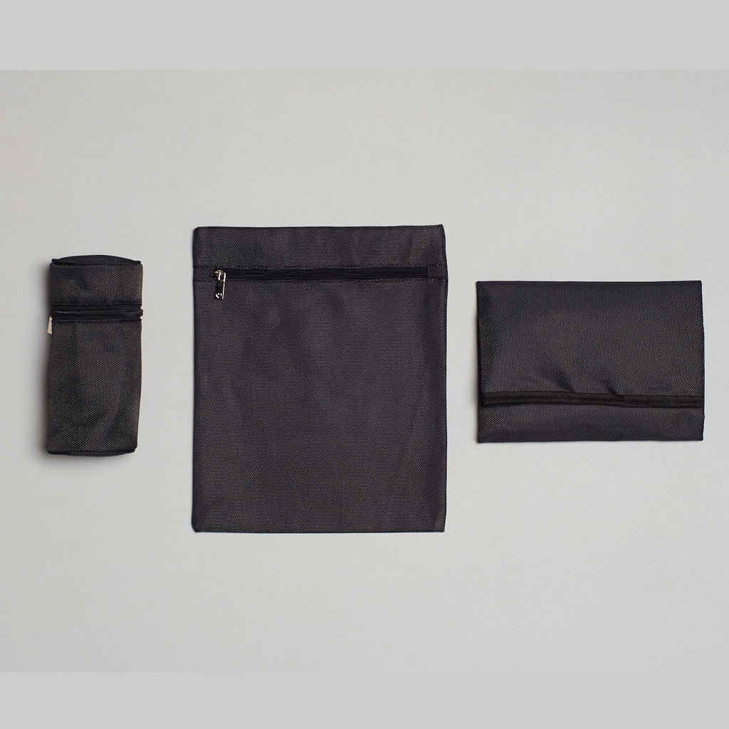 Essential Basics Bundle: Bottle Holder, Zipped Bag & Change Mat | Livvy + Harry