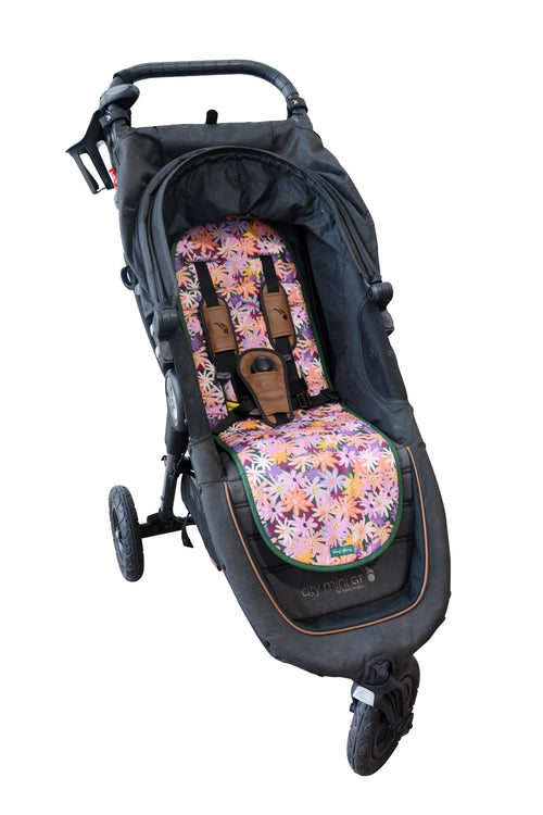 Luxe Pram Liner Colourpop Floral