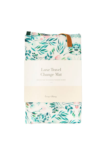 Garden Party Travel Change Mat - PRE-ORDER | Livvy + Harry