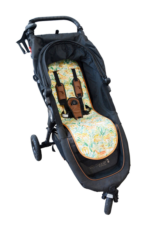 PRE-ORDER - Luxe Pram Liner Jungle Safari