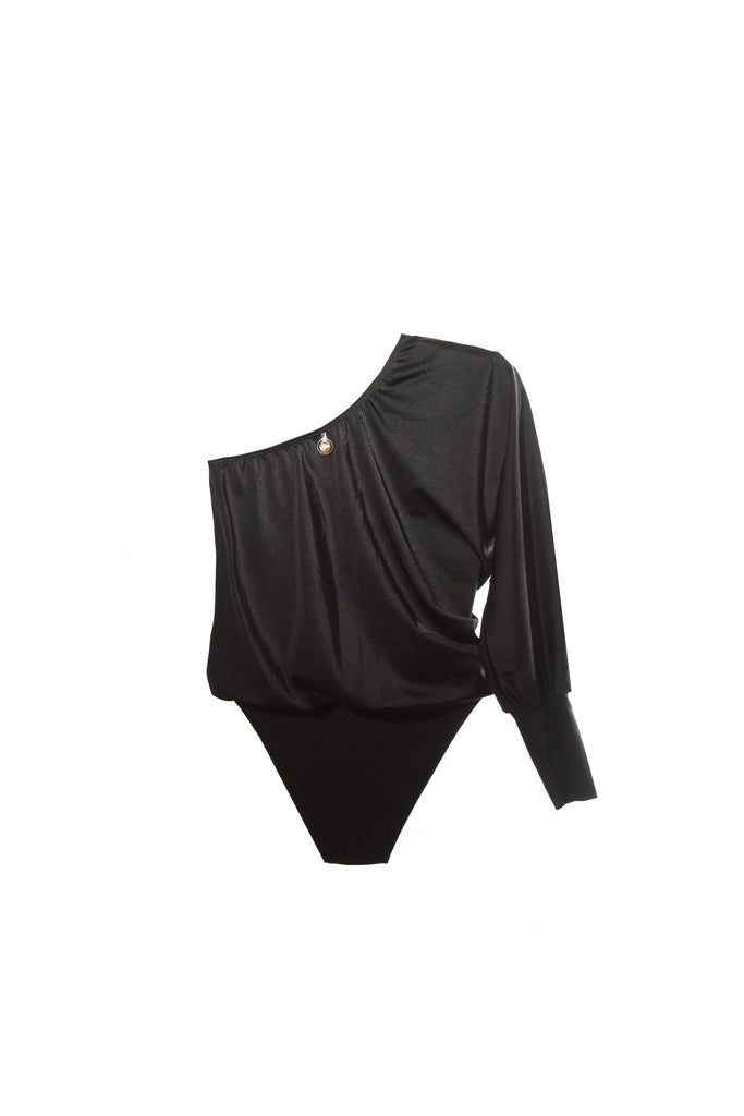 HARBOR MAILLOT BLACK