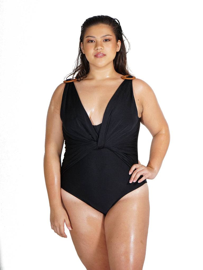 ASHLEY Maillot BLACK - swimwear online philippines