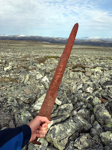 The Discovery Of A Viking Sword