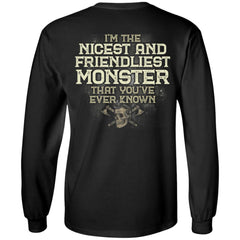 A VIKING BACKApparel[Heathen By Nature authentic Viking products]Long-Sleeve Ultra Cotton T-ShirtBlackS