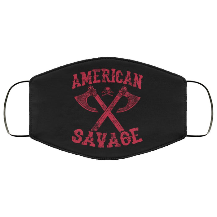 Face Cover - American SavageApparel[Heathen By Nature authentic Viking products]FMA Face MaskBlackOne Size