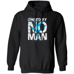 Shieldmaiden, Viking, Norse, Gym t-shirt & apparel, Owned by no man, frontApparel[Heathen By Nature authentic Viking products]Unisex Pullover HoodieBlackS