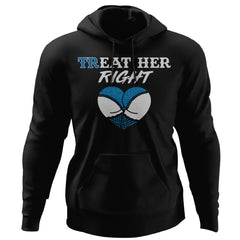 Shieldmaiden, Viking, Norse, Gym t-shirt & apparel, Treat her right, FrontApparel[Heathen By Nature authentic Viking products]