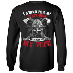 T-shirt, Wife, Viking, BackApparel[Heathen By Nature authentic Viking products]Long-Sleeve Ultra Cotton T-ShirtBlackS