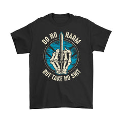 Teelaunch, Do no harm, FrontT-shirt[Heathen By Nature authentic Viking products]Gildan Mens T-ShirtBlackS