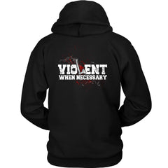 teelaunch,, frontT-shirt[Heathen By Nature authentic Viking products]Unisex HoodieBlackS