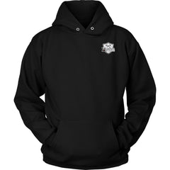 Teelaunch, look calm, double sidedT-shirt[Heathen By Nature authentic Viking products]Unisex HoodieBlackS