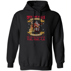 Viking apparel, Deck the halls with the ballsApparel[Heathen By Nature authentic Viking products]Unisex Pullover HoodieBlackS