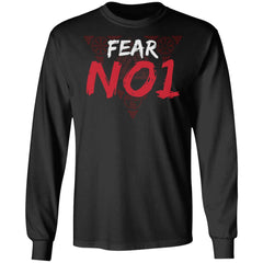 Viking apparel, Fear No 1, frontApparel[Heathen By Nature authentic Viking products]Long-Sleeve Ultra Cotton T-ShirtBlackS