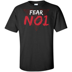 Viking apparel, Fear No 1, frontApparel[Heathen By Nature authentic Viking products]Tall Ultra Cotton T-ShirtBlackXLT