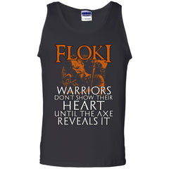 Viking apparel, Floki, frontApparel[Heathen By Nature authentic Viking products]Cotton Tank TopBlackS