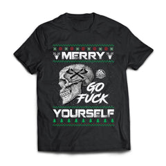 Viking apparel, Merry go f**k yourselfApparel[Heathen By Nature authentic Viking products]Next Level Premium Short Sleeve T-ShirtBlackX-Small