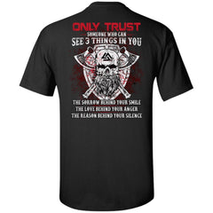 Viking apparel, Only trust someone who, BackApparel[Heathen By Nature authentic Viking products]Tall Ultra Cotton T-ShirtBlackXLT