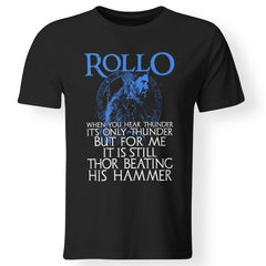 Viking apparel, Rollo, frontApparel[Heathen By Nature authentic Viking products]Premium Men T-ShirtBlackS