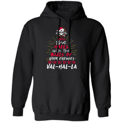 Viking apparel, The balls of your enemiesApparel[Heathen By Nature authentic Viking products]Unisex Pullover HoodieBlackS
