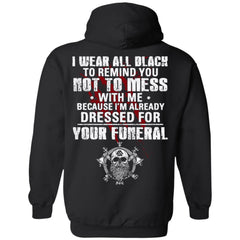 Viking apparel, Wear all black, BackApparel[Heathen By Nature authentic Viking products]Unisex Pullover HoodieBlackS