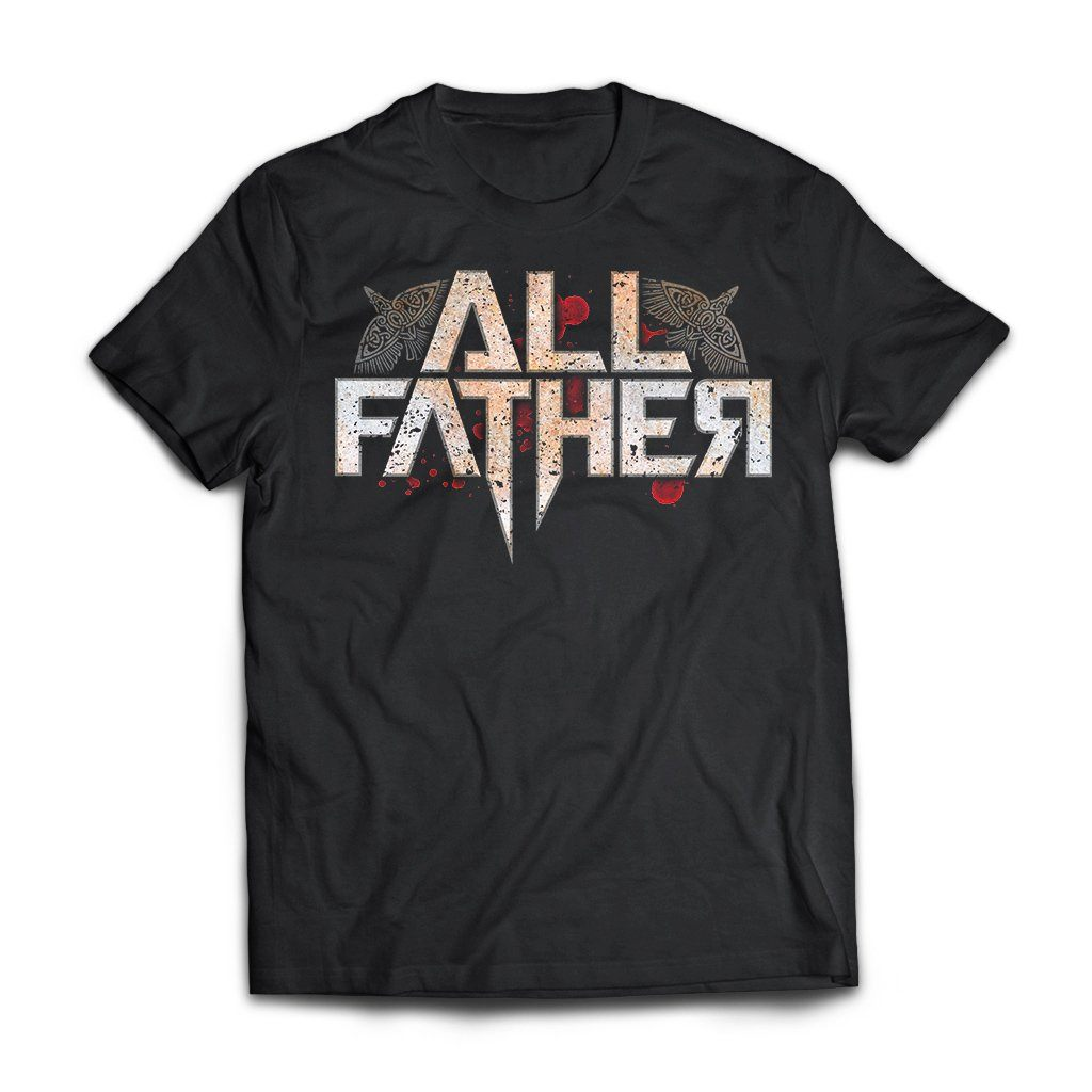 Viking, Norse, Gym t-shirt & apparel, All Father, FrontApparel[Heathen By Nature authentic Viking products]Next Level Premium Short Sleeve T-ShirtBlackX-Small