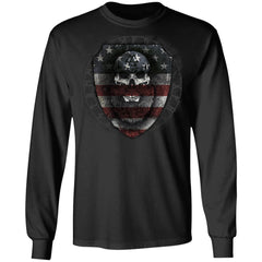 Viking, Norse, Gym t-shirt & apparel, American viking , frontApparel[Heathen By Nature authentic Viking products]Long-Sleeve Ultra Cotton T-ShirtBlackS