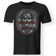 Viking, Norse, Gym t-shirt & apparel, American viking , frontApparel[Heathen By Nature authentic Viking products]Premium Men T-ShirtBlackS