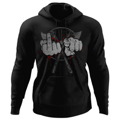 Viking, Norse, Gym t-shirt & apparel, American viking , frontApparel[Heathen By Nature authentic Viking products]Unisex Pullover HoodieBlackS