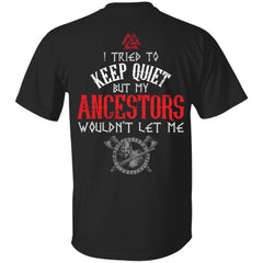 Viking, Norse, Gym t-shirt & apparel, Ancestors, Double sidedApparel[Heathen By Nature authentic Viking products]
