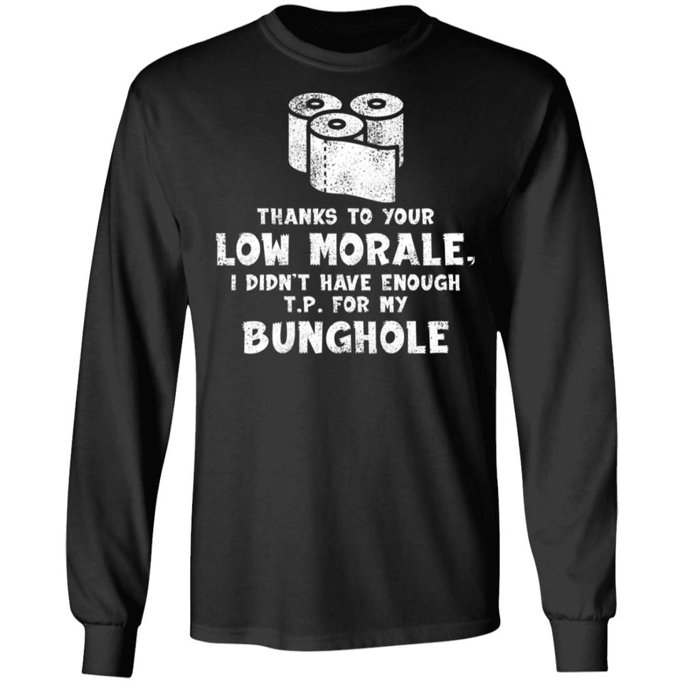 Viking, Norse, Gym t-shirt & apparel, Bunghole, FrontApparel[Heathen By Nature authentic Viking products]Long-Sleeve Ultra Cotton T-ShirtBlackS