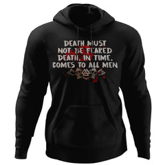 Viking, Norse, Gym t-shirt & apparel, Death, FrontApparel[Heathen By Nature authentic Viking products]Unisex Pullover HoodieBlackS