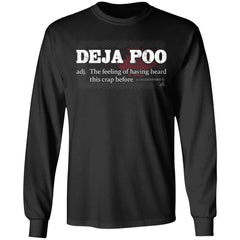 Viking, Norse, Gym t-shirt & apparel, Deja Poo, FrontApparel[Heathen By Nature authentic Viking products]Long-Sleeve Ultra Cotton T-ShirtBlackS