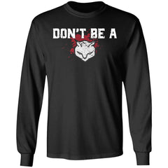 Viking, Norse, Gym t-shirt & apparel, Don't be a p*#sy, FrontApparel[Heathen By Nature authentic Viking products]Long-Sleeve Ultra Cotton T-ShirtBlackS