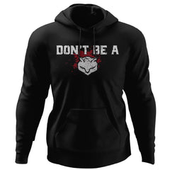 Viking, Norse, Gym t-shirt & apparel, Don't be a p*#sy, FrontApparel[Heathen By Nature authentic Viking products]Unisex Pullover HoodieBlackS