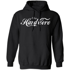 Viking, Norse, Gym t-shirt & apparel, Enjoy hardcore, frontApparel[Heathen By Nature authentic Viking products]Unisex Pullover Hoodie 8 oz.BlackS