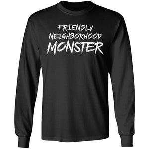 Viking, Norse, Gym t-shirt & apparel, Friendly neighborhood monster, frontApparel[Heathen By Nature authentic Viking products]Long-Sleeve Ultra Cotton T-ShirtBlackS