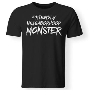 Viking, Norse, Gym t-shirt & apparel, Friendly neighborhood monster, frontApparel[Heathen By Nature authentic Viking products]Premium Men T-ShirtBlackS