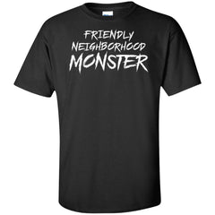 Viking, Norse, Gym t-shirt & apparel, Friendly neighborhood monster, frontApparel[Heathen By Nature authentic Viking products]Tall Ultra Cotton T-ShirtBlackXLT