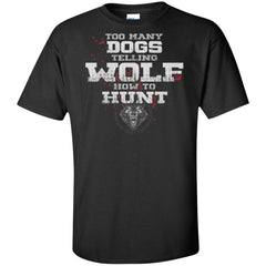 Viking, Norse, Gym t-shirt & apparel, How to hunt, FrontApparel[Heathen By Nature authentic Viking products]Tall Ultra Cotton T-ShirtBlackXLT