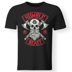 Viking, Norse, Gym t-shirt & apparel, Humble beast, FrontApparel[Heathen By Nature authentic Viking products]Premium Men T-ShirtBlackS
