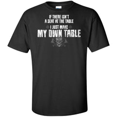 Viking, Norse, Gym t-shirt & apparel, I just make my own table, FrontApparel[Heathen By Nature authentic Viking products]Tall Ultra Cotton T-ShirtBlackXLT